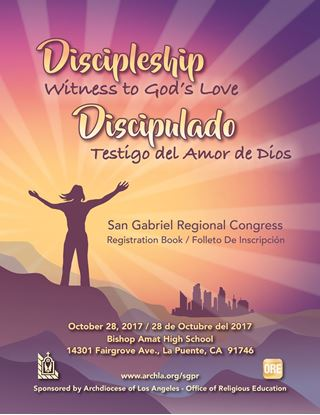 Picture of San Gabriel Regional Congress 2017 Individual & Group Registration