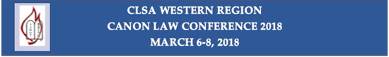 Picture of Western Region Canon Law Conference 2018