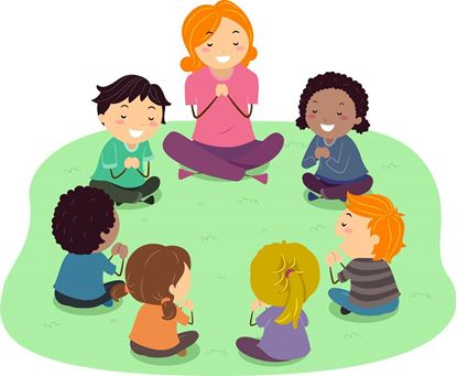 Picture of Children's Liturgy of the Word at Incarnation Community Center 10/23/18 & 10/30/18