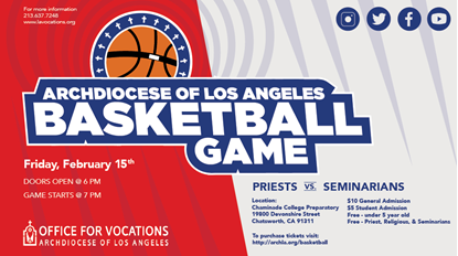 Picture of Priests Vs. Seminarians Basketball game