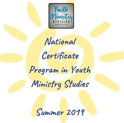 Picture of 2019 National Certificate Program in Youth Ministry Studies - Individual Registration