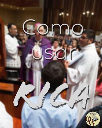 Picture of COMO USAR EL RITO DE INICIACION CRISTIANA DE ADULTOS -102619