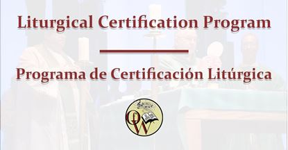 Picture of Liturgical Certification Program Full Payment