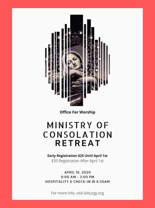 Picture of Postponed! Retreat - Ministry of Consolation -  American Martyrs 2020