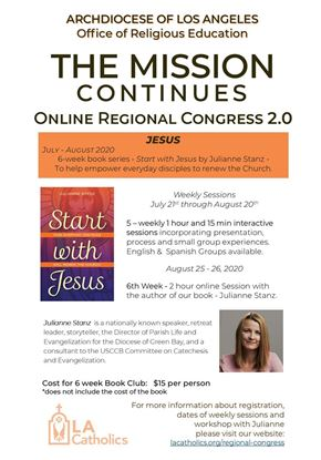 Picture of The Mission Continues Online Regional Congress 2.0: Jesus