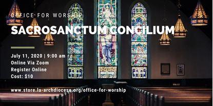 Picture of Sacrosanctum Concilium - English