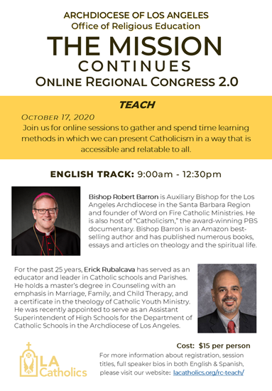 Picture of The Mission Continues - Online Regional Congress 2.0: TEACH