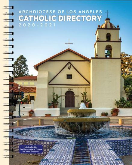 Picture of 2020-2021 Catholic Directory of the Archdiocese of Los Angeles