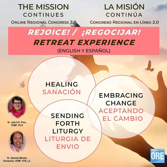 Picture of The Mission Continues - Online Regional Congress 2.0: REJOICE!